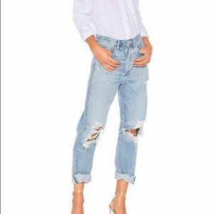 NEW AGOLDE Distressed Feel Good Jeans size 31